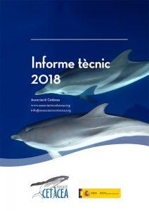 Informe tècnic 2018 Associació Cetàcea